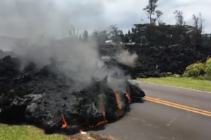Volcano spews lava in Hawaii, May 2018