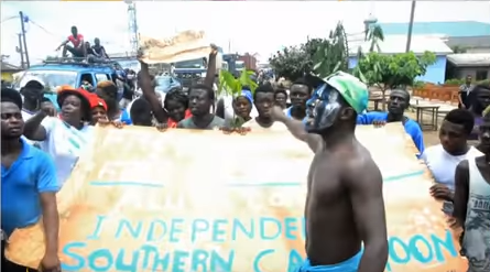 In 2016, the English-speaking parts of Cameroon started serious protests, demanding independence