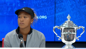 Naomi Osaka, 2018 U.S. Open Female Singles Champion