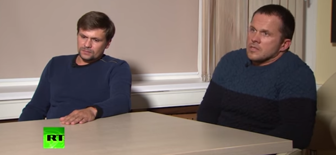Ruslan Boshirov and Alexander Petrov, the suspects in the Salisbury nerve agent attack, have spoken to RT