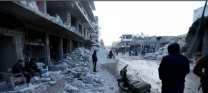 Syria crisis: Battle for the control of Syria has caused enormous damage