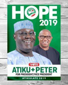 Atiku Abubakar (L) and Peter Obi