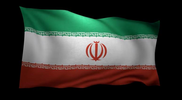 Iranian national flag