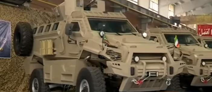 Toufan (Storm) - 4x4 Mine Resistant Ambush Protected (MRAP) Vehicle