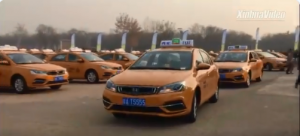 China-made methanol-fueled cars