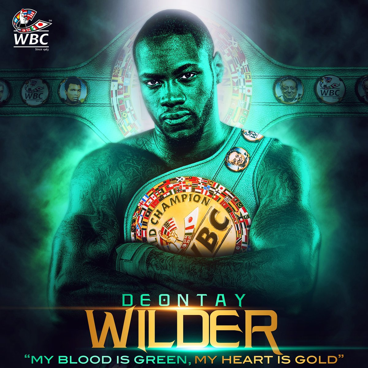 Deontay Wilder. (Image credit World Boxing Council - @WBCBoxing)