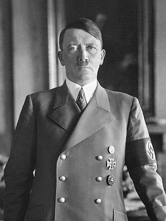 Adolf Hitler. (Image credit Wikipedia)
