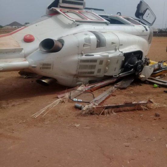 Nigerian vice president survives chopper crash, 2nd Feb 2019