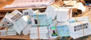 Permanent Voters' Cards (PVCs)
