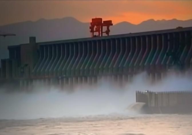 Dam - a hydropower plant