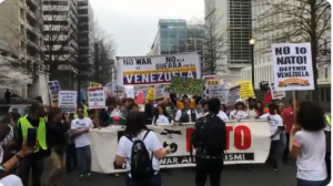 Protesters March In U.S., Denouncing NATO & U.S. Interference In Venezuela