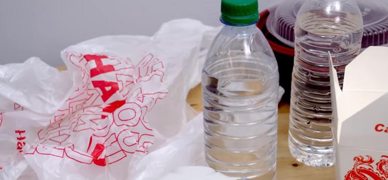 Single-use plastic products
