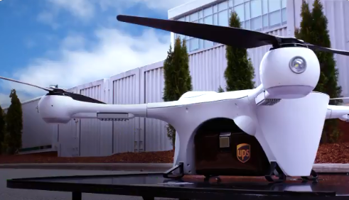 UPS drone delivery service