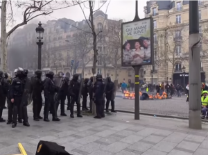 'Yellow Vest' protest in France, 16.03.2019