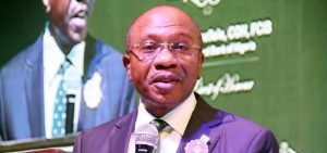 Central Bank of Nigeria governor Godwin Emefiele