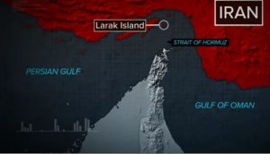 Iran, Persian Gulf, Strait of Hormuz, Gulf of Oman, Larak Island