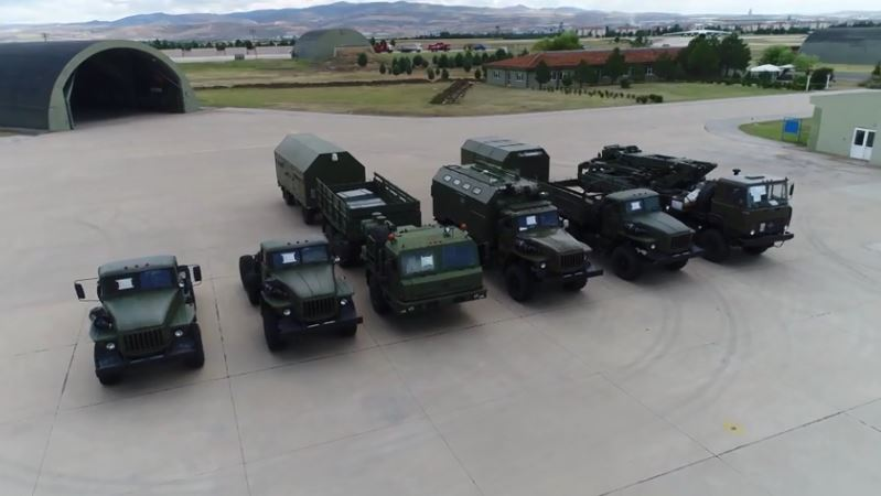 Russia starts delivery of S-400 Missile Defense System to Turkey, July 2019
