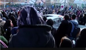 Massive protests In Iran, with protesters calling government officials liars, and demanding resignation