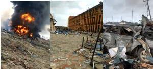 Explosion in Lagos, Nigeria, kills many people & destroys properties worth billions of Naira, 15 March 2020