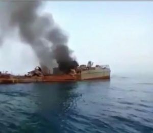 19 Iranian sailors accidentally killed during a military drill Sunday, 10 May 2020