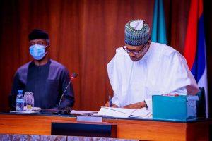President Muhammadu Buhari & Vice President Yemi Osinbajo