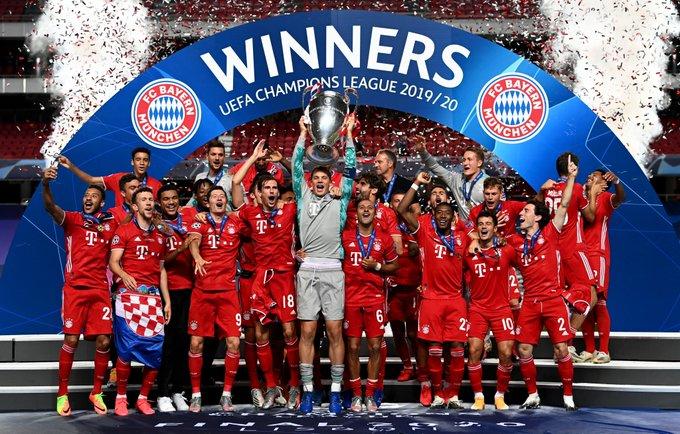 Bayern Munich is winner of 2019-20 Champions League
