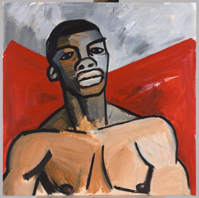 Portrait of August Agbola O'Brown (Credit to www.muzeumwarszawy.pl)