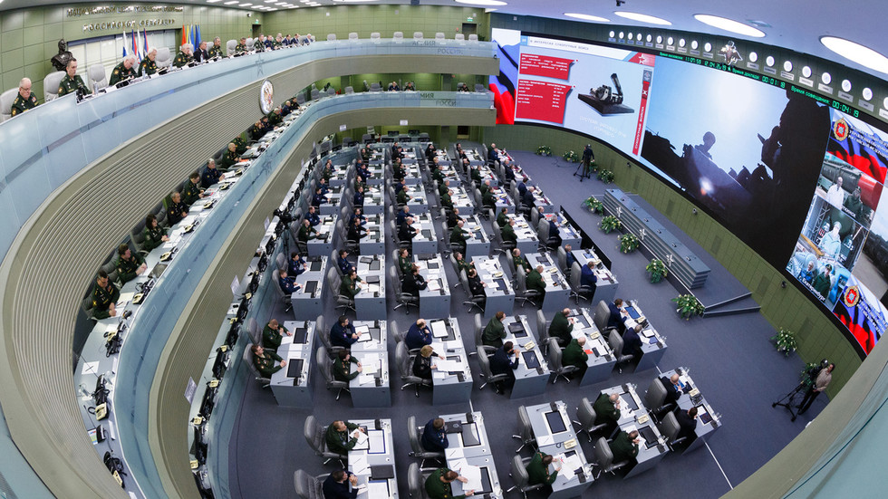 The Russian National Defense Management Center. ©Defense Ministry / Vadim Savitsky