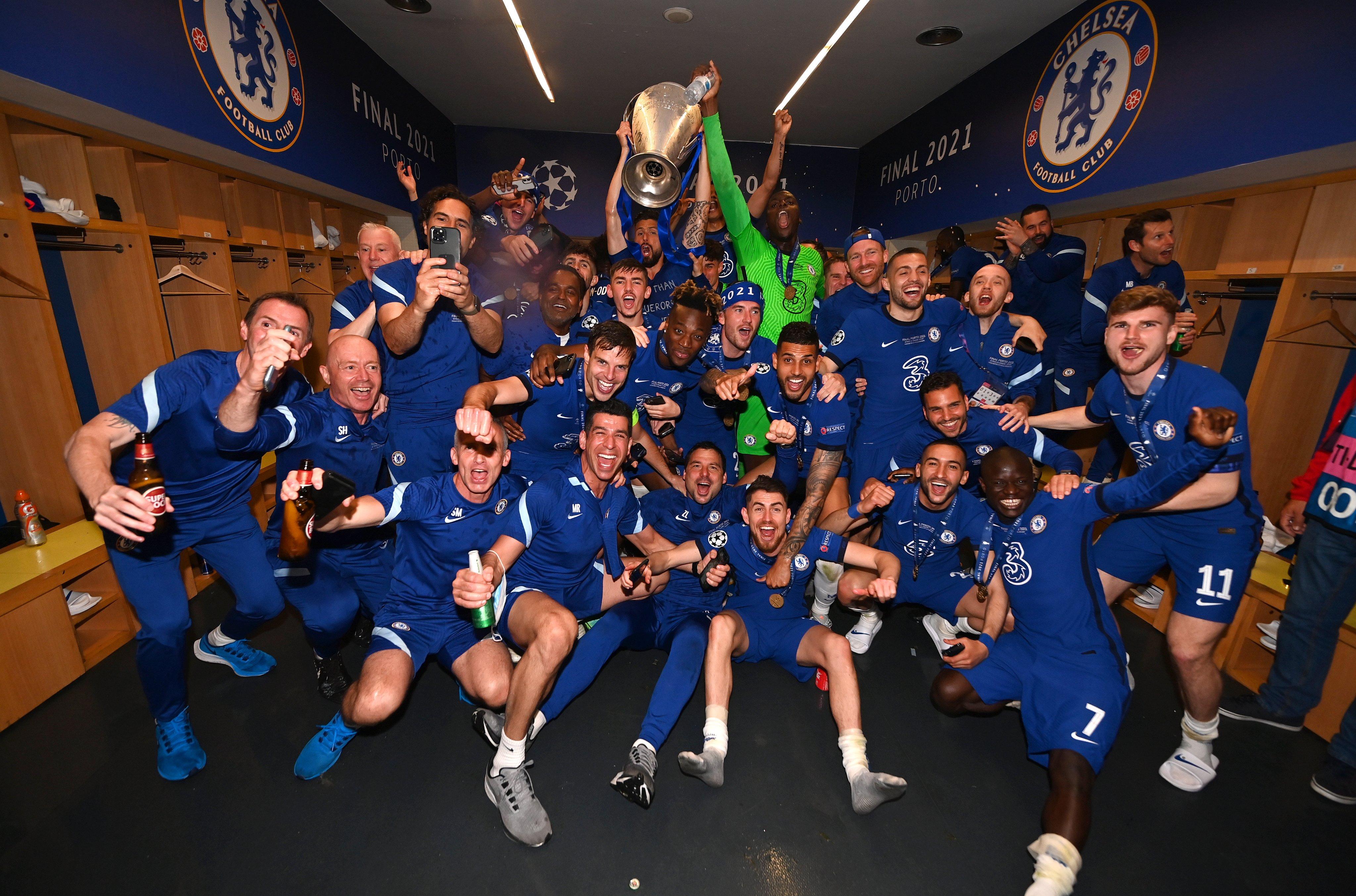 Chelsea Wins Champions League 2020/21