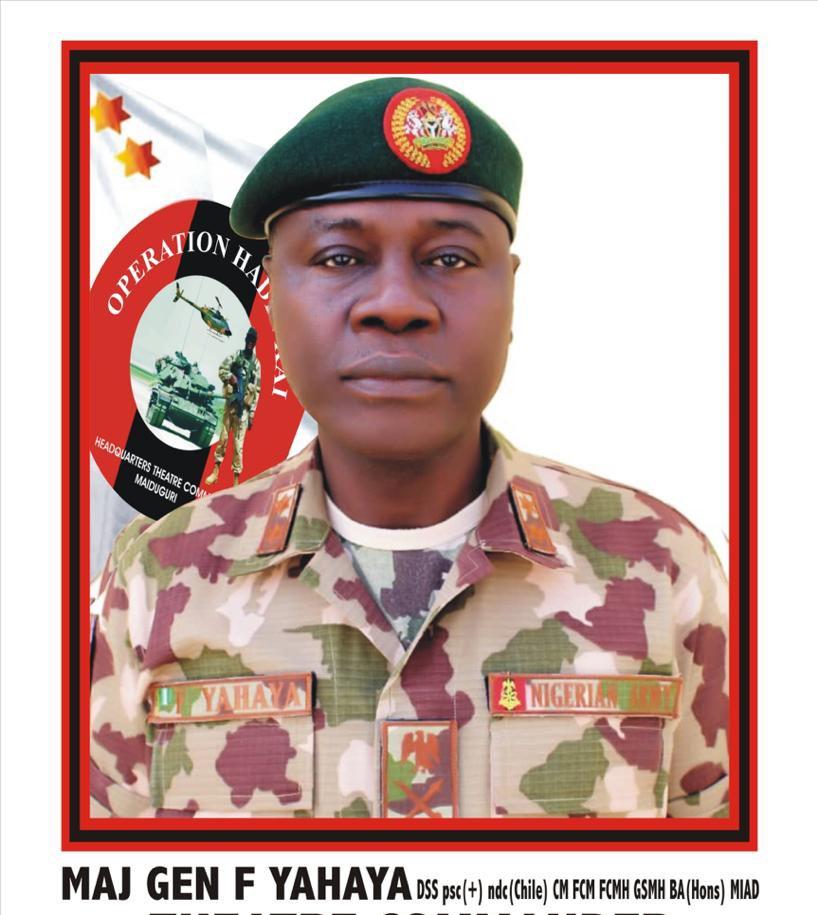 Maj. General Farouk Yahaya