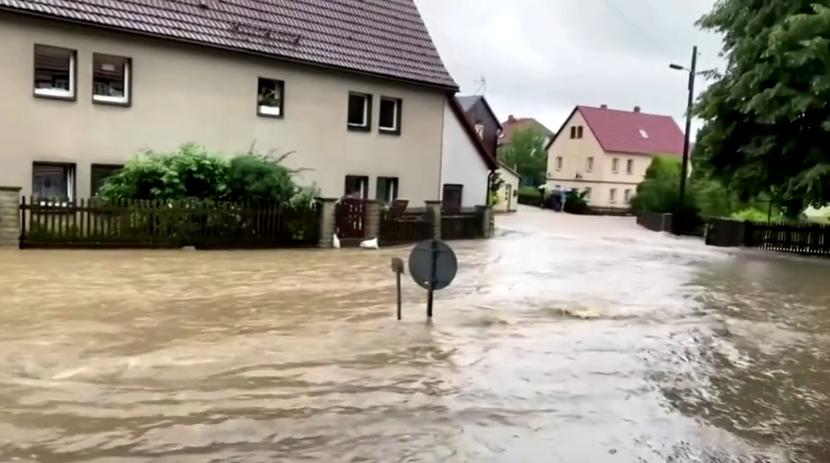 Flood in Germany, July 2021