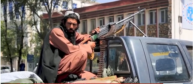 Taliban fighter in Afghanistan